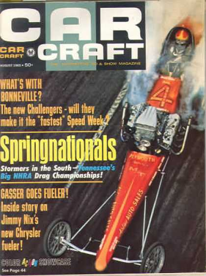 Car Craft - August 1965