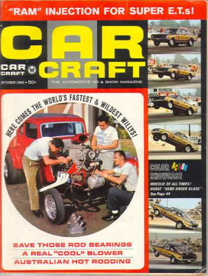 Car Craft - October 1965