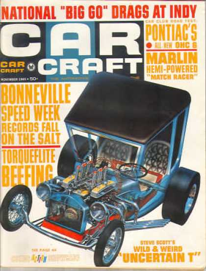 Car Craft - November 1965
