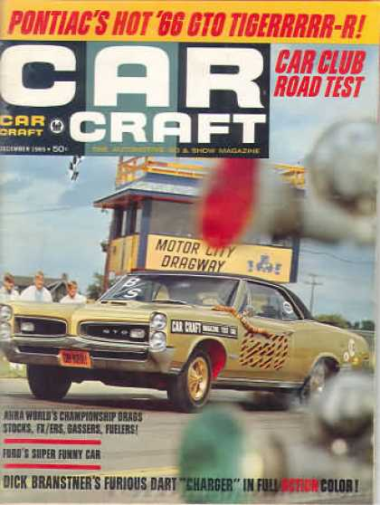 Car Craft - December 1965