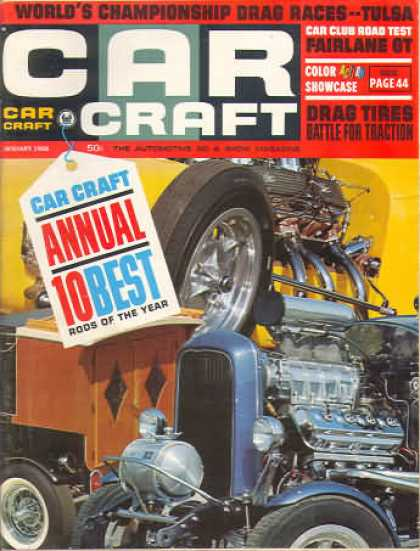 Car Craft - January 1966