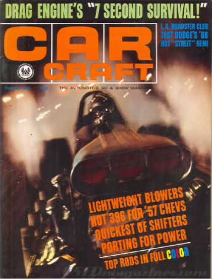 Car Craft - February 1966