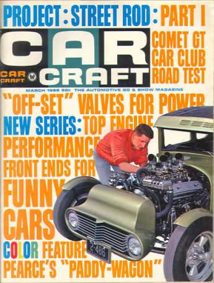 Car Craft - March 1966