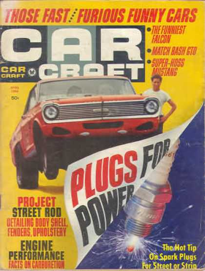 Car Craft - April 1966