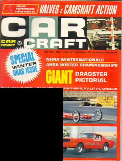 Car Craft - May 1966