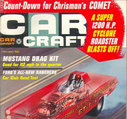 Car Craft - July 1966