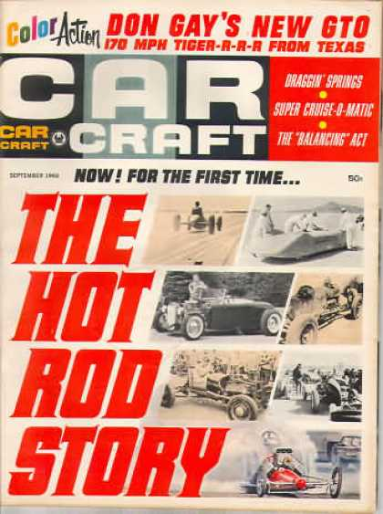 Car Craft - September 1966