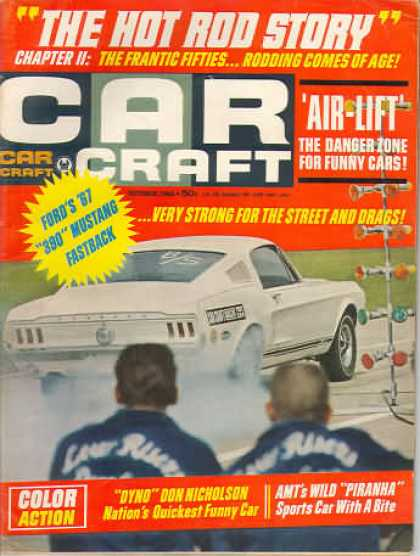 Car Craft - October 1966