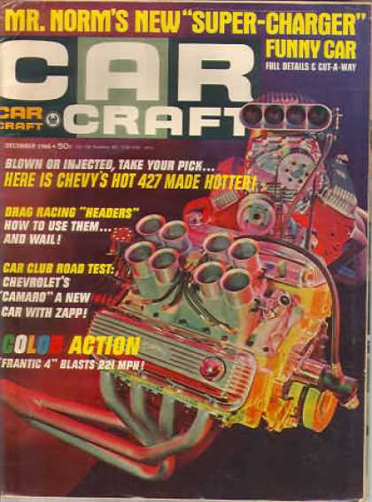 Car Craft - December 1966