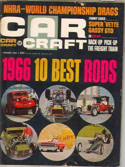 Car Craft - January 1967