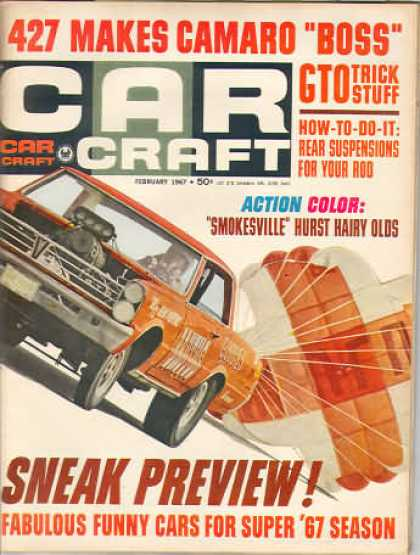 Car Craft - February 1967