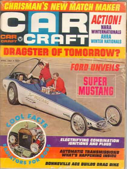 Car Craft - April 1967