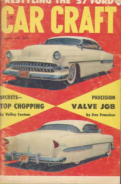 Car Craft - January 1957