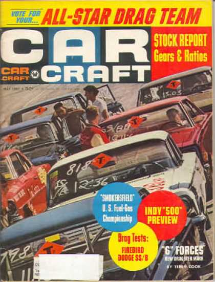 Car Craft - May 1967