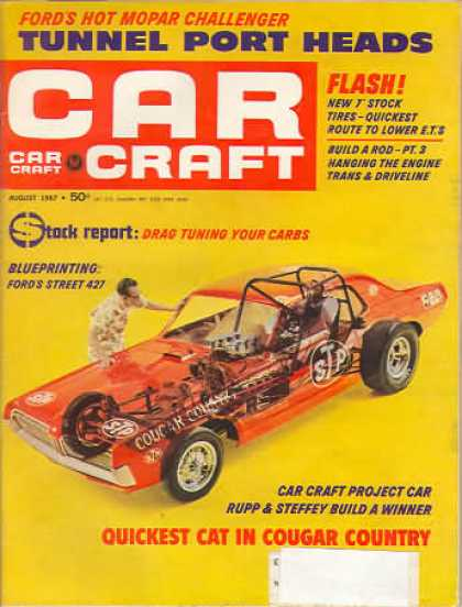 Car Craft - August 1967