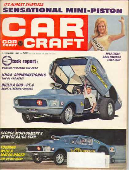 Car Craft - September 1967
