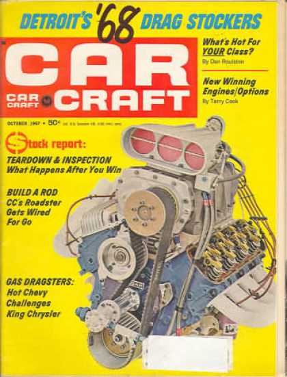 Car Craft - October 1967