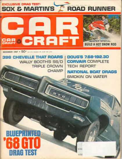Car Craft - December 1967