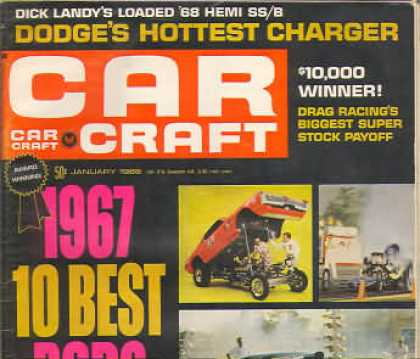 Car Craft - January 1968
