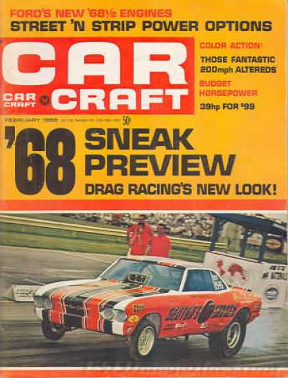 Car Craft - February 1968