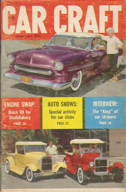 Car Craft - March 1957