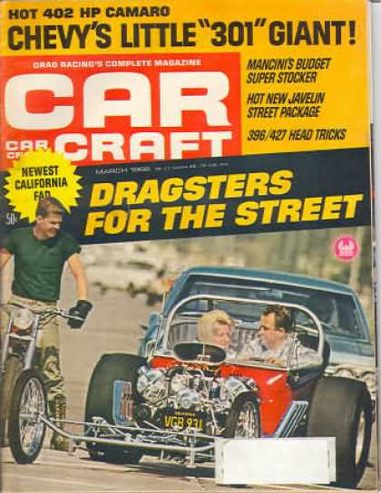 Car Craft - March 1968