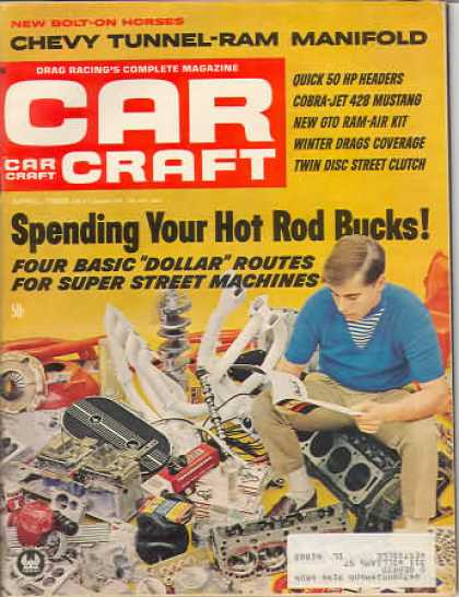 Car Craft - April 1968