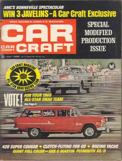 Car Craft - May 1968