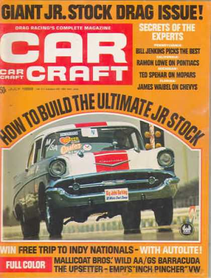 Car Craft - July 1968