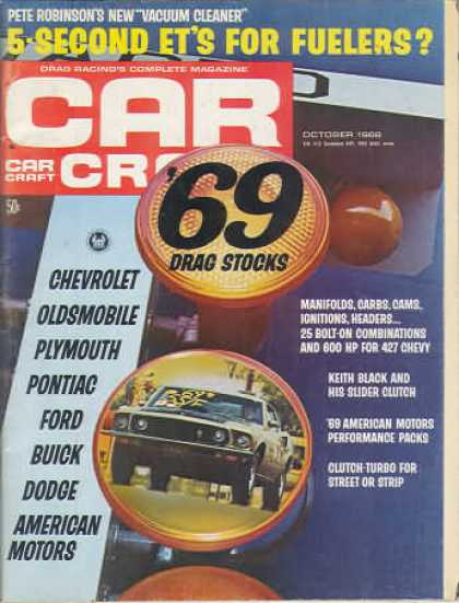 Car Craft - October 1968