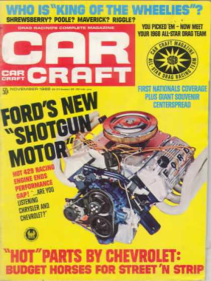 Car Craft - November 1968