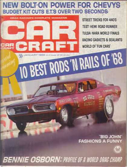 Car Craft - January 1969