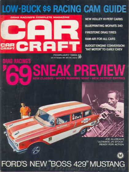 Car Craft - February 1969