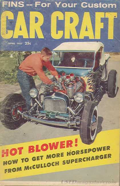 Car Craft - April 1957