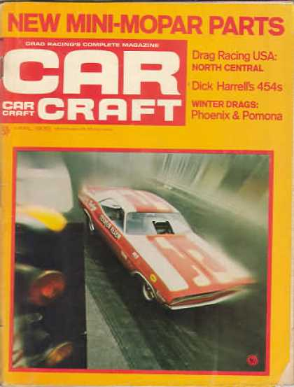 Car Craft - April 1970