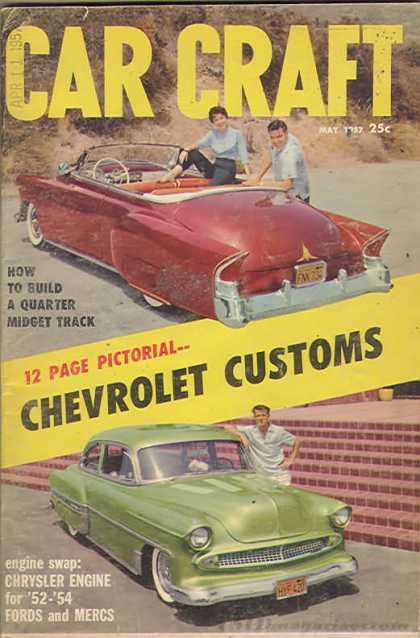 Car Craft - May 1957