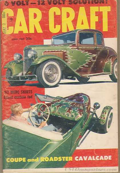 Car Craft - June 1957