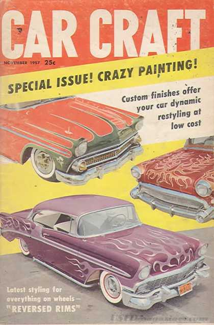 Car Craft - November 1957