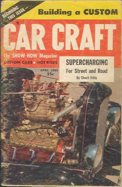 Car Craft - April 1955