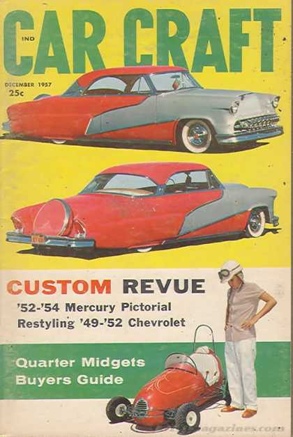 Car Craft - December 1957