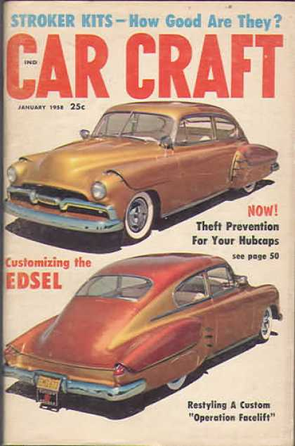 Car Craft - January 1958