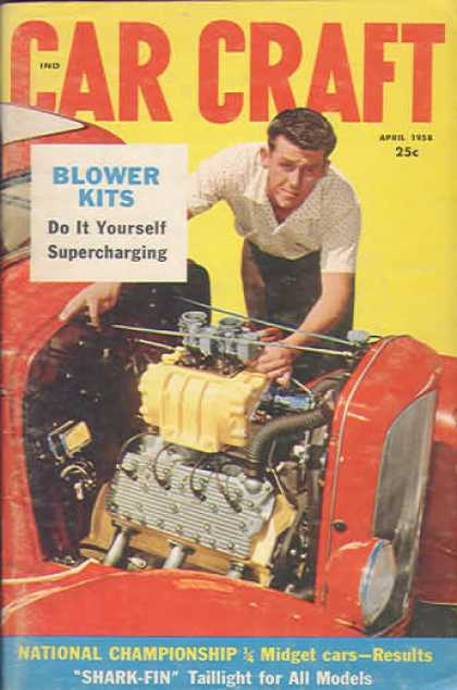 Car Craft - April 1958