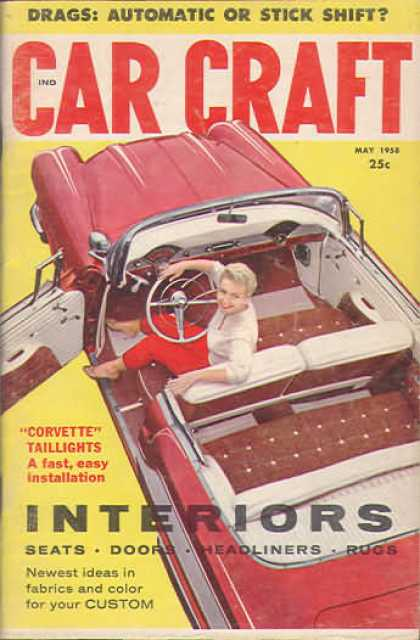 Car Craft - May 1958