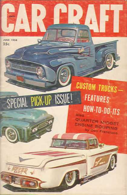 Car Craft - June 1958