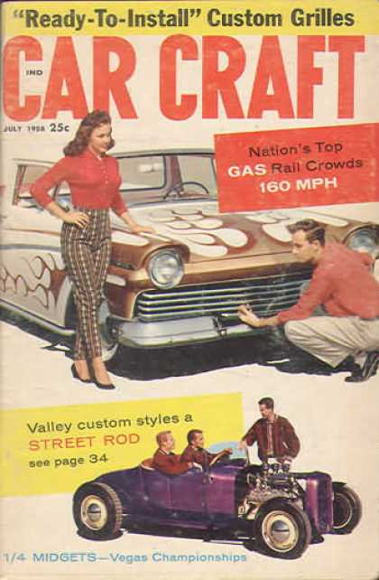 Car Craft - July 1958