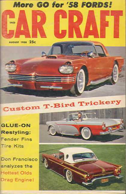 Car Craft - August 1958