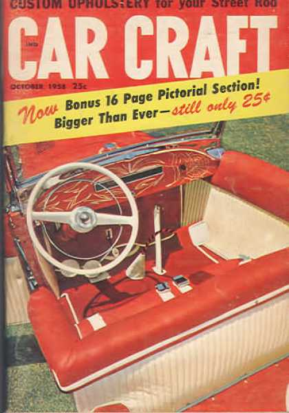 Car Craft - October 1958