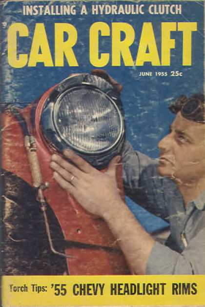 Car Craft - June 1955