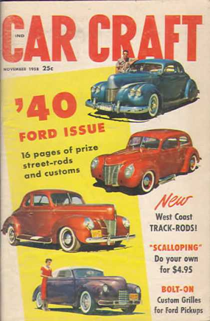 Car Craft - November 1958