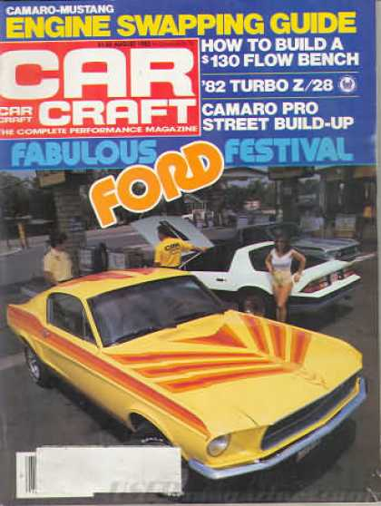 Car Craft - August 1982